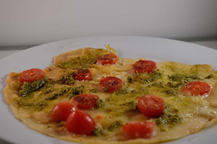 Pesto Pannenkoek